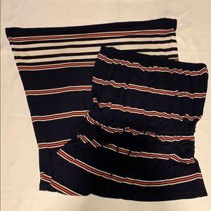 J. Crew strapless maxi dress (XL)